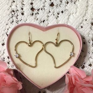 Avon Jewelry - 5/$15! NWOT Gold Heart Earrings